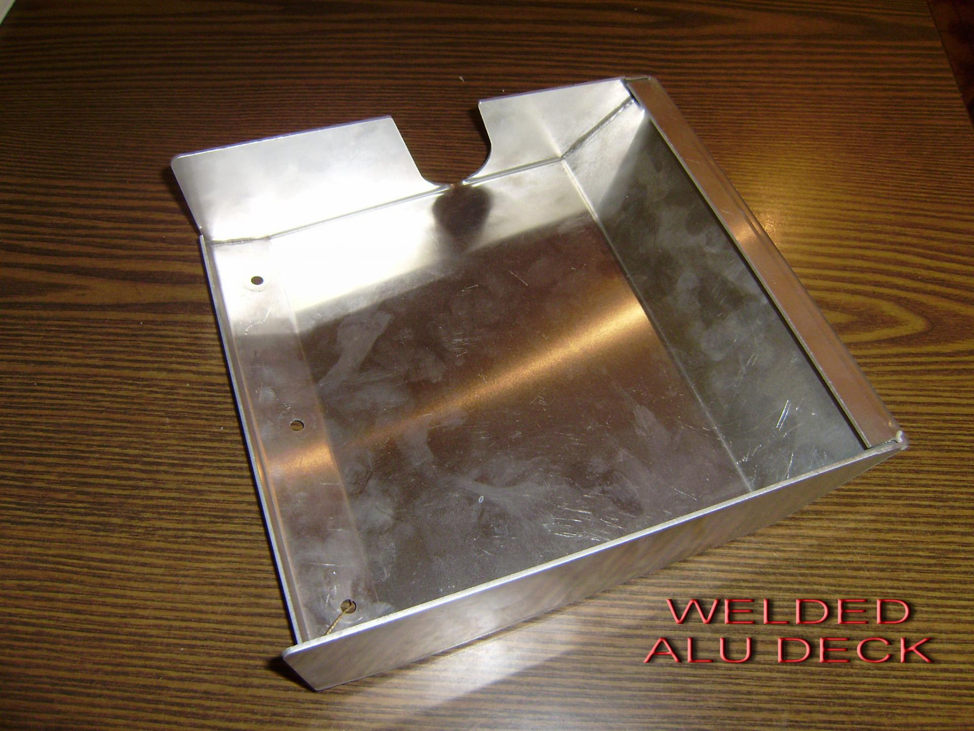 Welded alu