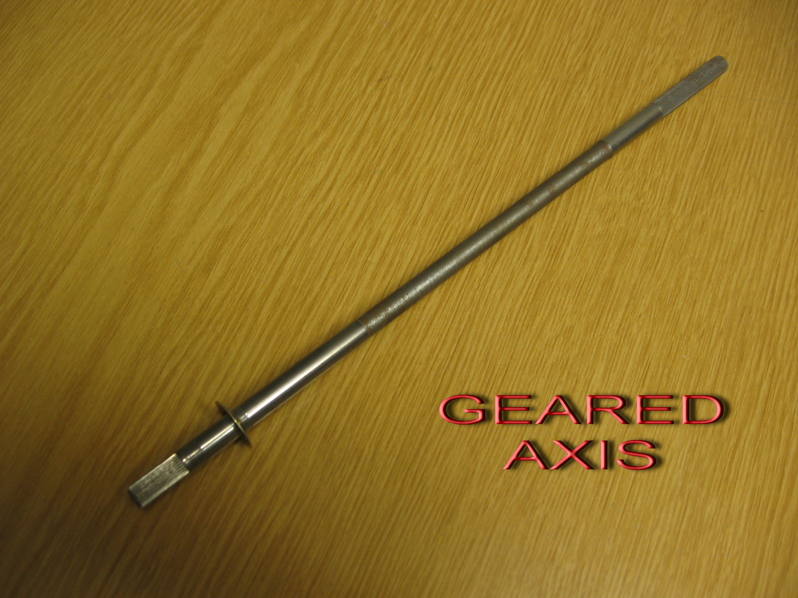 Geared axis